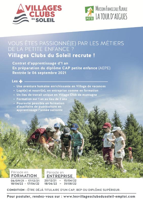 Flyer Villages Club du Soleil