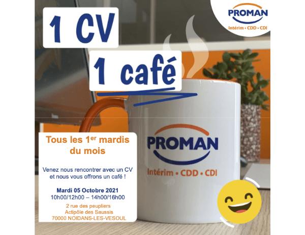 Proman 1 CV 1 Café